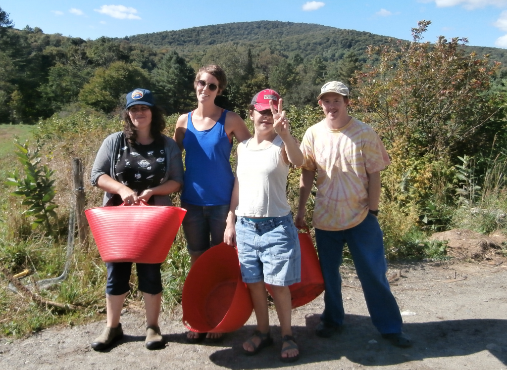 From left: Seneca, Samantha, Lindsey & Chris