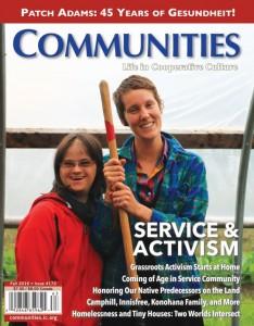 Communities Magazine Cover