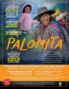 Palomita screening and dinner @ Heartbeet Lifesharing Community Center